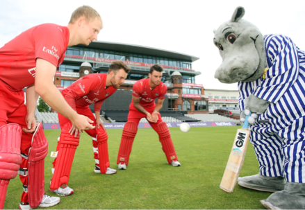 County's cricket stars can rest easy