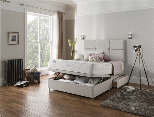Maximise the storage potential in your bedroom