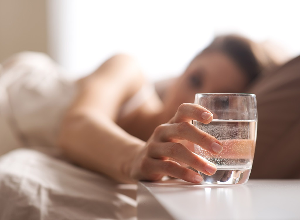 Five ways to get hydrated before bed