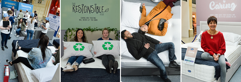 Is it time to upgrade your mattress? Try Bed Speed Dating with Silentnight